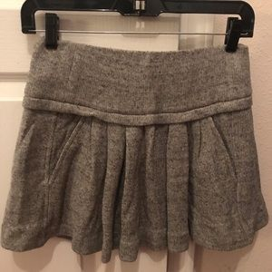 Etoile Isabel Marant Gray Grey Knit Sweater Skirt